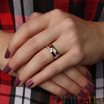 Золотое обручальное кольцо Нинон TRF--4421059
