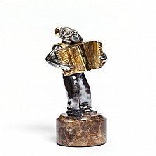 Серебряная статуэтка Золотой аккордеон