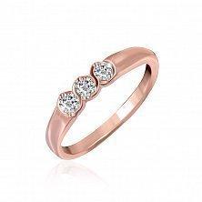 Серебряное кольцо с цирконием Альвина