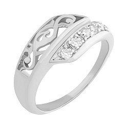 Серебряное кольцо Аркадия с фианитами
