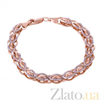 Браслет из комбинированного золота Соломон ONX--б01027