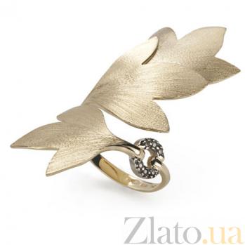 Кольцо Hera из желтого золота с коньячными бриллиантами R-Stern-E-6bdd