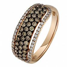 Золотое кольцо Лиос с бриллиантами