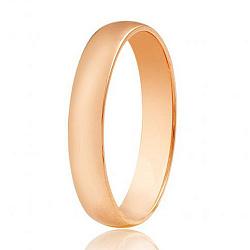 Обручальное кольцо из красного золота 000001688