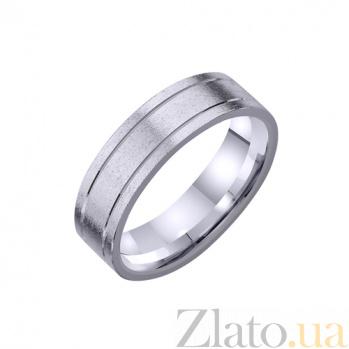 Золотое обручальное кольцо Любовь в Париже TRF--4211115