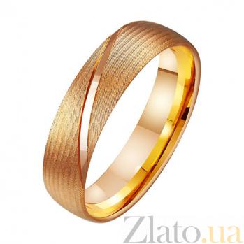 Золотое обручальное кольцо Пламенное чувство TRF--411269
