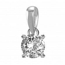 Кулон из белого золота Joy с бриллиантом 0.5ct