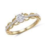 Кольцо из золота с бриллиантами Глориана