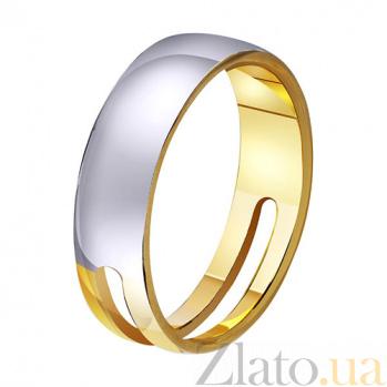 Золотое обручальное кольцо Загадка любви TRF--411380