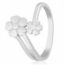 Серебряное кольцо Маргаритки