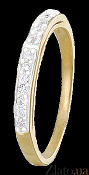 Кольцо из серебра с цирконием Роксан 000025572