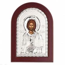 Иисус Христос икона серебряная