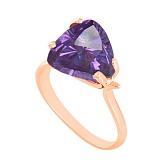 Золотое кольцо Сандра с александритом