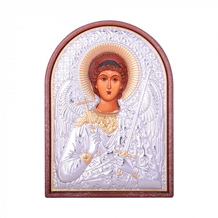 Икона Ангел Хранитель с серебрением 000131702 000131702