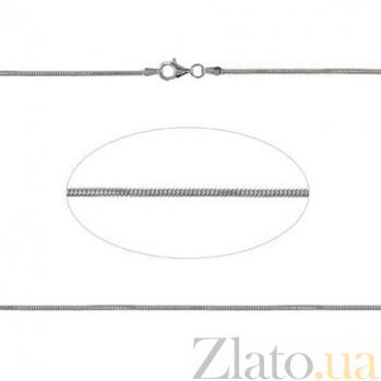 Серебряная цепочка Снейк AQA--930Р-3