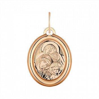 Ладанка из красного золота 000141340