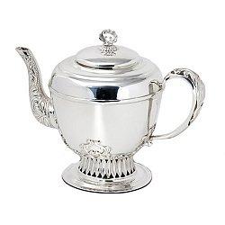Серебряный чайник Аристократ 000043575