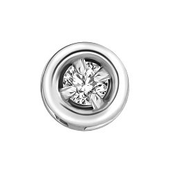 Серебряная подвеска с бриллиантом Mini 000019112