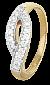 Серебряное кольцо с цирконием Фирая 000025629
