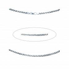 Серебряная цепочка Молния