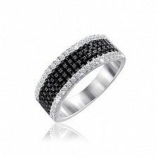 Серебряное кольцо Валентина с фианитами
