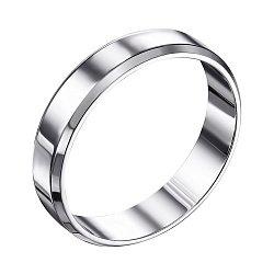 Серебряное обручальное кольцо 000119332