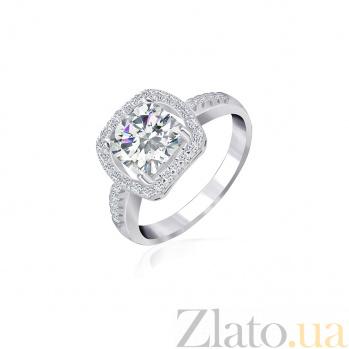Кольцо из серебра с фианитами Нарине 000025519