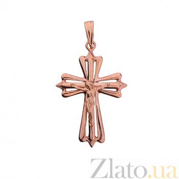 Золотой крест Ангел-хранитель ONX--п01746