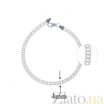 Серебряный браслет Саманта 10020007