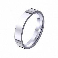 Золотое обручальное кольцо Эхо