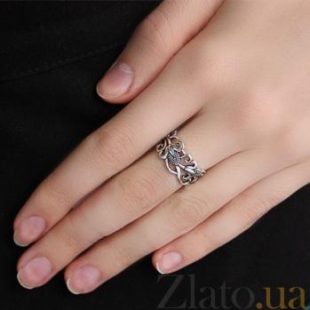 Серебряное кольцо Сладость лета AUR--71728*