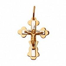 Золотой крестик Светлый символ