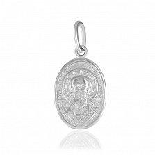 Ладанка из серебра Святой Николай