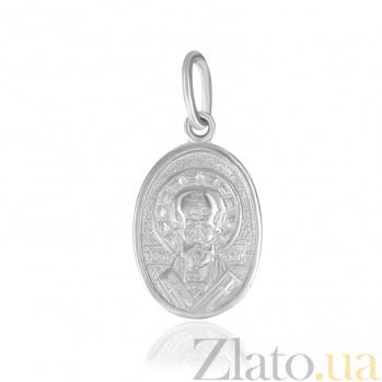 Ладанка из серебра Святой Николай 000025381