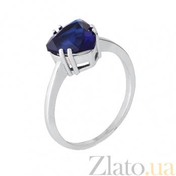 Кольцо из серебра с фианитом Альфинур 000028364