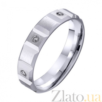 Золотое обручальное кольцо Лейла TRF--422860