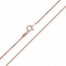 Серебряная цепь Монреаль с позолотой, 1,5 мм