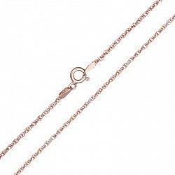 Серебряная цепь с позолотой, 1,5 мм 000071846