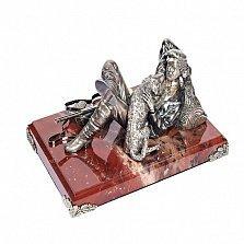Серебряная статуэтка Привал