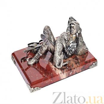Серебряная статуэтка Привал 1209