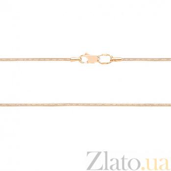 Золотой браслет на ногу Тонда LEL--41601
