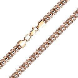 Золотая цепь в комбинированном цвете 000141442