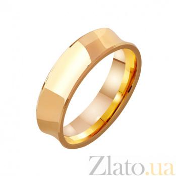 Золотое обручальное кольцо Классическая империя TRF--4111130