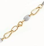 Золотая цепочка из комбинированного золота Британника