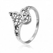 Серебряное кольцо Легкость бытия