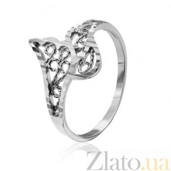 Серебряное кольцо Легкость бытия 000025843
