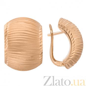 Золотые серьги Эмма SVA--2413371/Без вставки