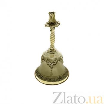 Маленький колокольчик Почаевская Лавра с подсвечником K3222