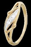 Серебряное кольцо с фианитами Лавинья