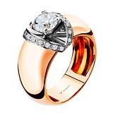 Золотое кольцо с бриллиантами Рассвет